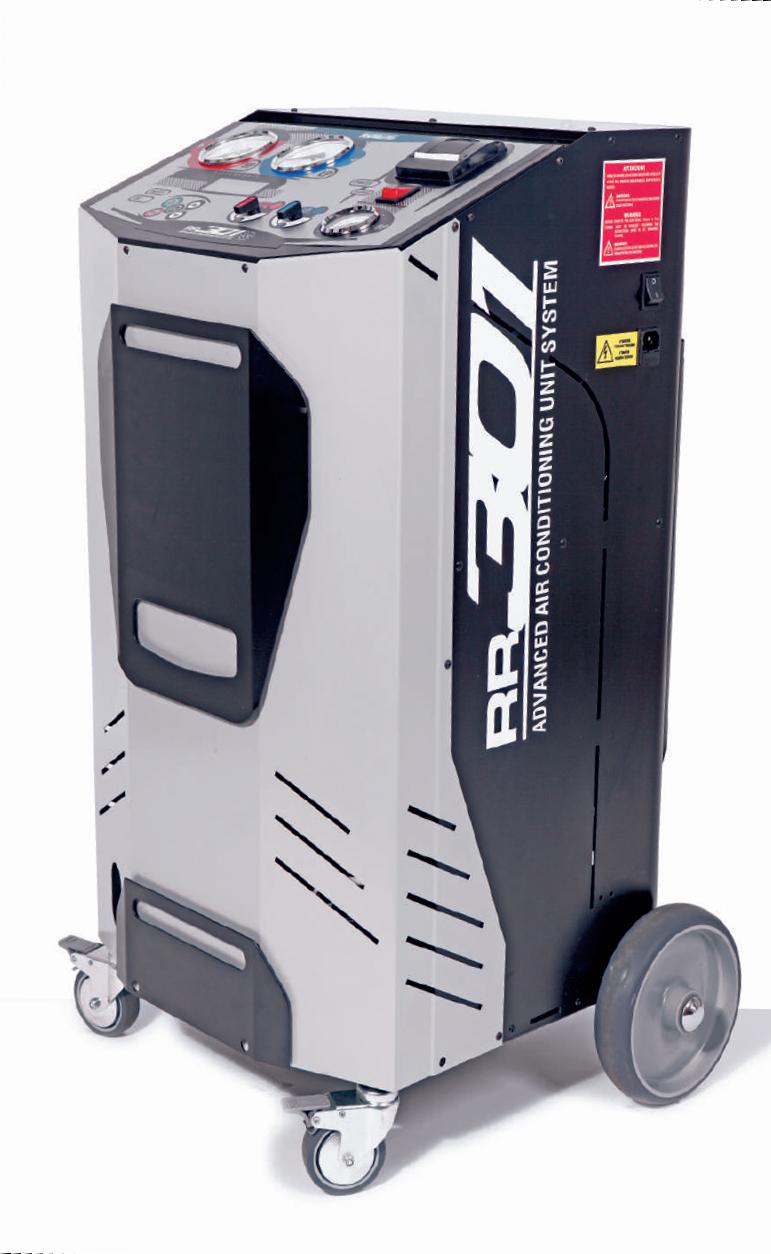 دستگاه شارژ گاز کولر ایتالیایی مدل RR 1001